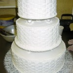 3 Tier Wicker Weave