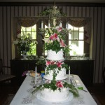 3 Tier With Flowers
