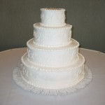 4 Tier Cake on Cake Y Scroll